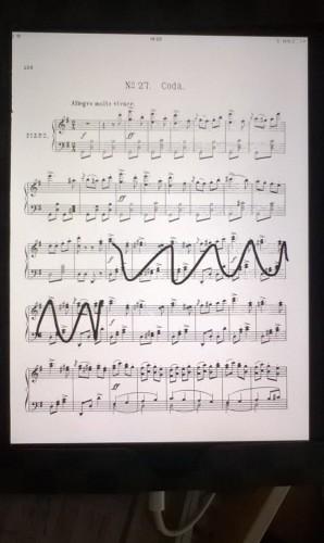 Forscore sheet music app