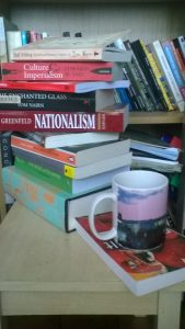 My current reading list: not so much a list as a pile