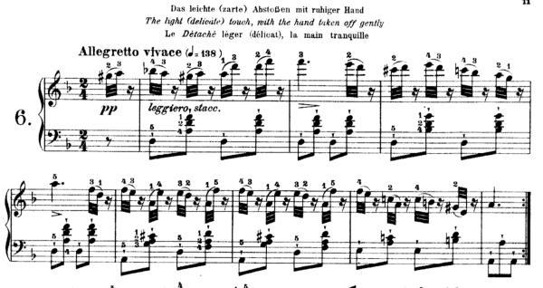 Czerny Op. 335 No. 6