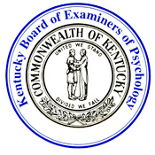 Kentucky Psychology Board Seal