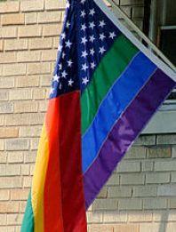 LGBT USA Pride Flag