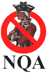 No Quartering Association Logo