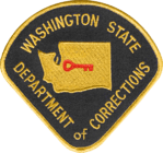 Washington Department of Corrections Shoulder Patch