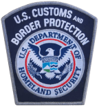 Customs and Border Protection Shoulder Patch
