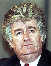 Radovan Karadžić in 1995
