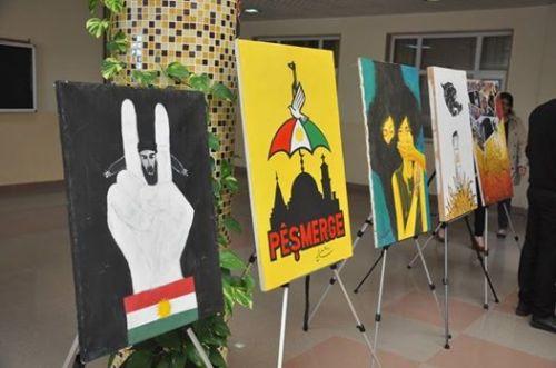 kurdish-art-displays