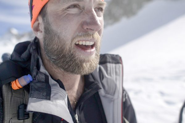 "10h Ski touring on the mythic trail "" la haute route"" during the shooting of The Spot"