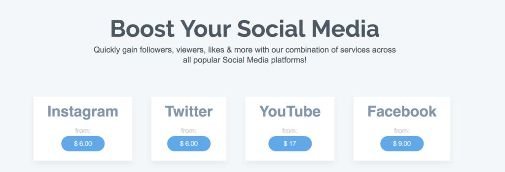Social10x - Twitter Likes, Retweets, Followers