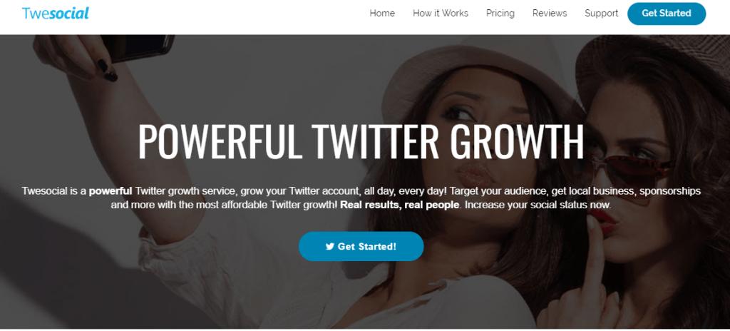 Twesocial - Auto Followers Twitter