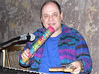 Jon blend playing music