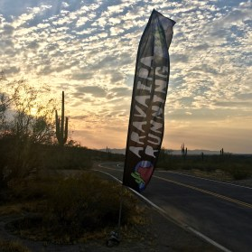 Always love capturing Aravaipa's banners at their events.