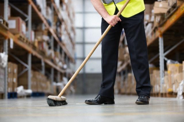 Warehouse janitorial company