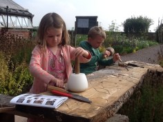 budding sculptors