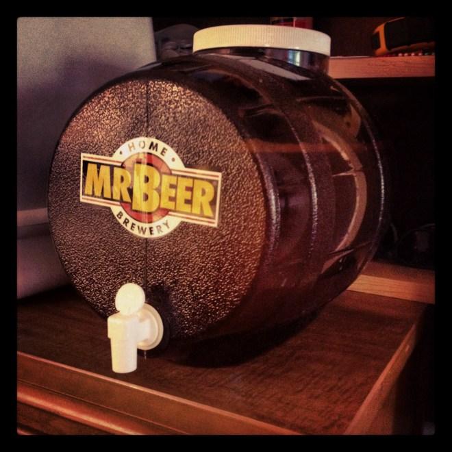Mr. Beer home brew keg