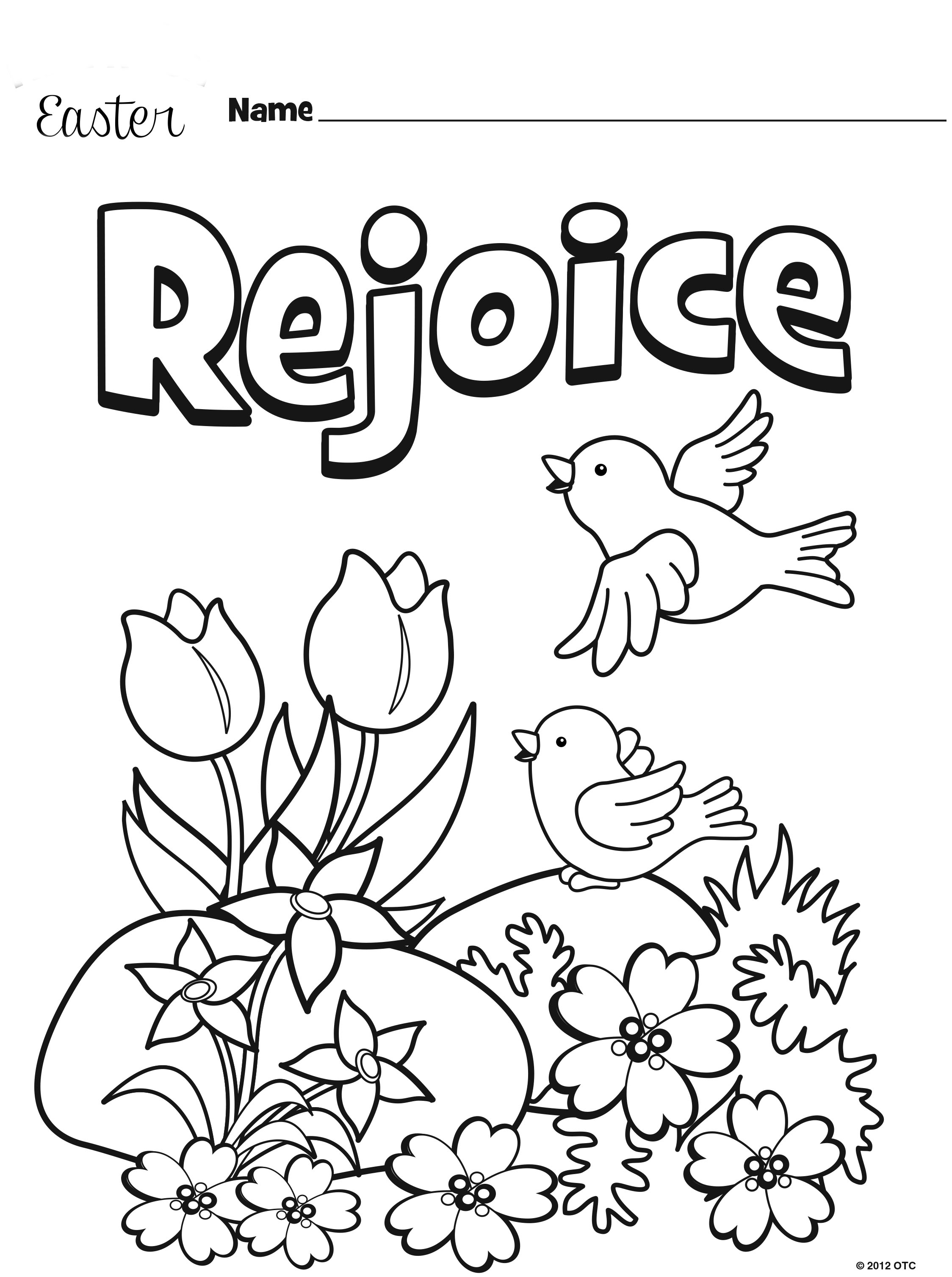 Oriental Trading Coloring Pages Easter