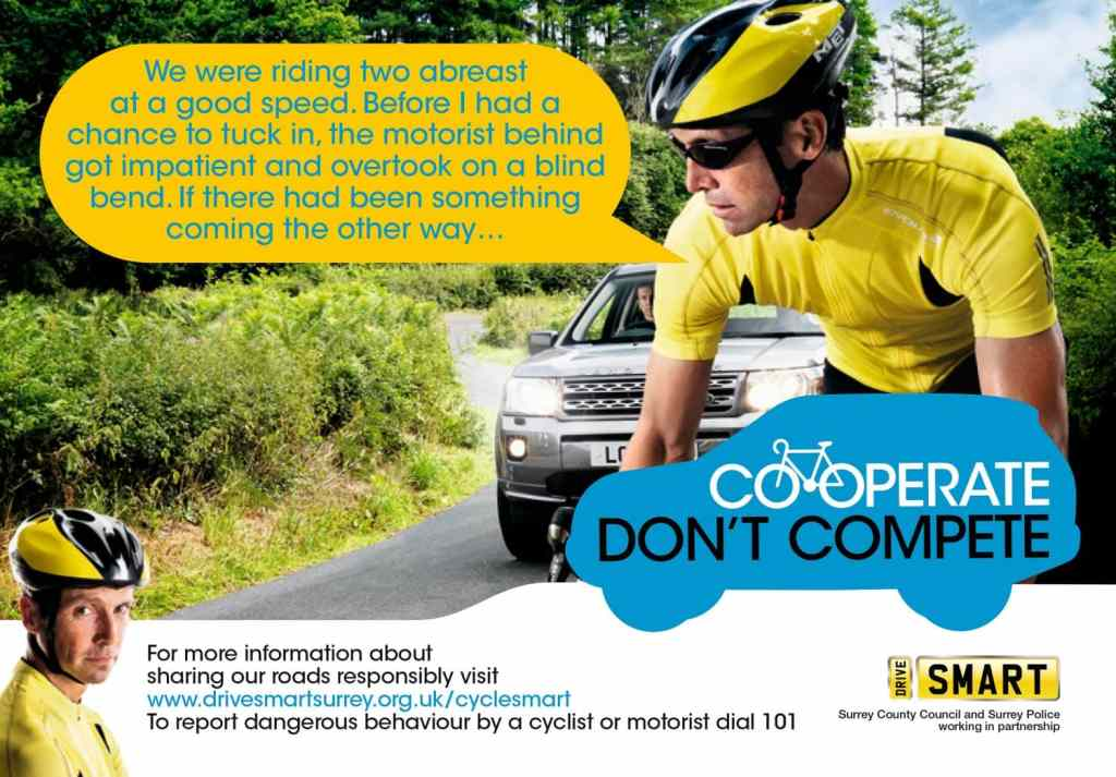 Surrey Police Drive Smart Campaign poster
