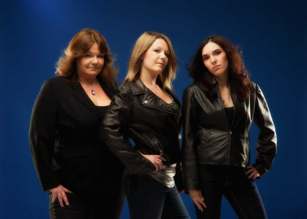 Charlie's Angels inspired group of girls for a book keeping company
