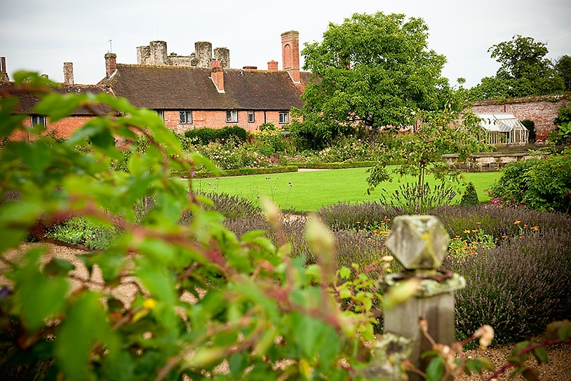 award winning gardens at Cowdray Park, sussex