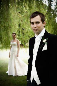 Hansdome Groom, Warbook House, Eversley wedding photography