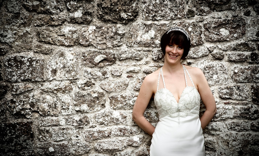 Bride Amongst The Cowdray Ruins