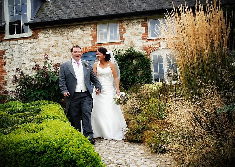 Beautiful Gardens at The Barn at Bury Court