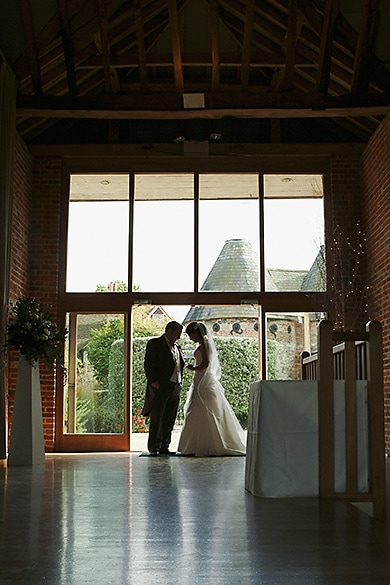 Romantic Wedding Photography at The Barn at Bury Court