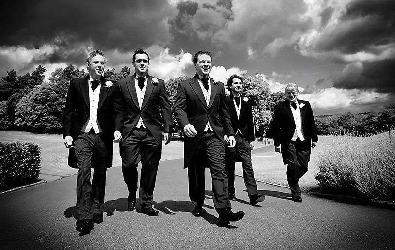 Pulp Fiction style documentary wedding photography