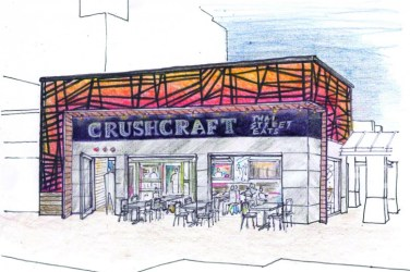 street thai restaurant food exterior sketch concept designs baker roof uptown freshest dallas jones crushcraft quadrangle eats grab opening later