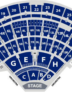 Seating chart enlarged  aerial view jones beach theater also rh jonesbeach