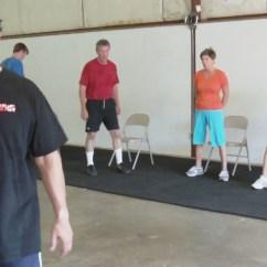 Chair Gym Weight Loss Swivel Bomstad Black Workout Jonesercise