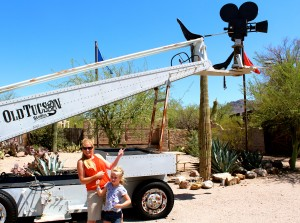 Rocking Out at Old Tucson Studios