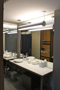 Bathrooms at Aloft Houston by the Galleria