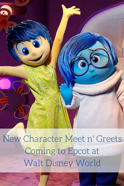 New Character Meet n' Greets Coming to Epcot at Walt Disney World