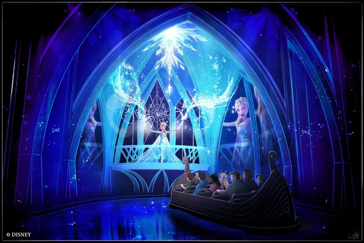 Frozen Ever After Attraction Set to Open at Epcot in June