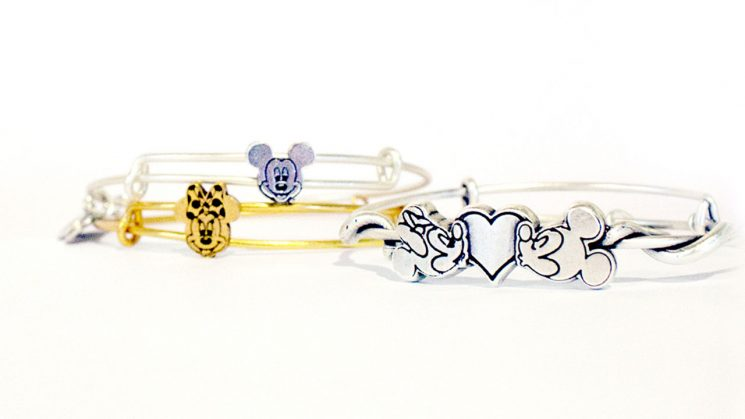 Mickey Mouse and Minnie Mouse ALEX AND ANI Bangles Debuting This May