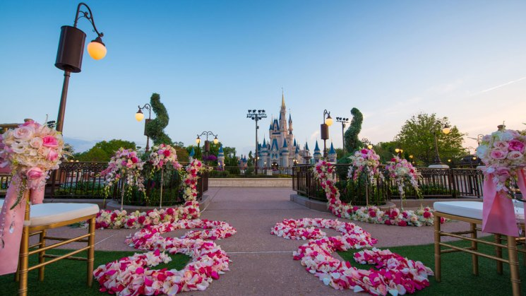 Magic Kingdom is Available as a Disney Weddings Location