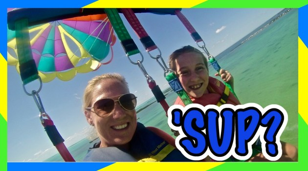 Epic Kid Parasailing Adventure!