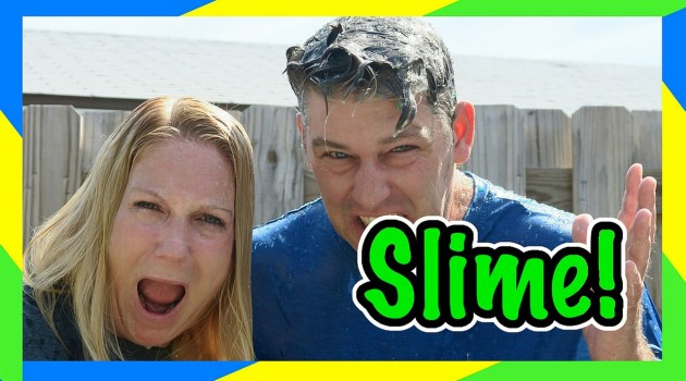 Parents Slime Bucket Challenge Video!