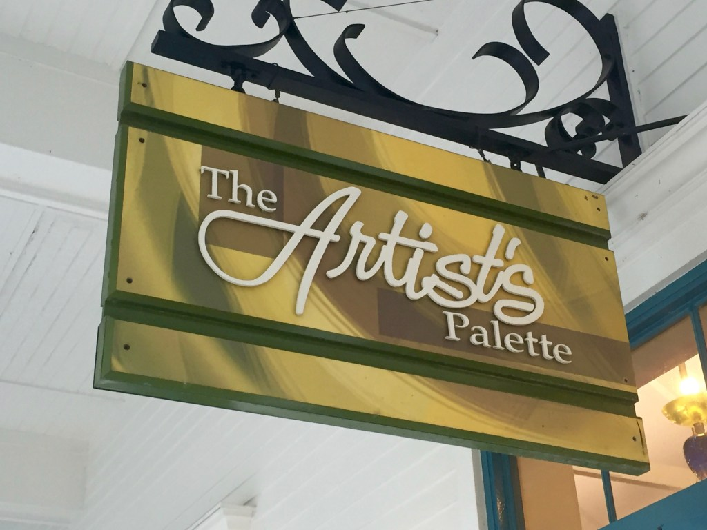 The Artists Palette at Disneys Saratoga Springs Resort