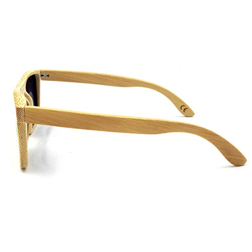 Bamboo Sunglasses - 100% Hand Made Wooden Sun Glasses,Men Women ...