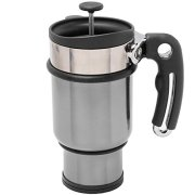 French-Press-Travel-Mug-with-Handle-Storage-Container-for-Extra-Coffee-and-2-Spill-Proof-Lids-14-oz-Silver-0-1