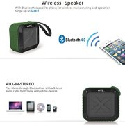 Portable-Outdoor-and-Shower-Bluetooth-40-Speaker-by-AYL-SoundFit-Waterproof-Wireless-with-10-Hour-Rechargeable-Battery-Life-Powerful-5W-Audio-Driver-Pairs-with-All-Bluetooth-Devices-0-1