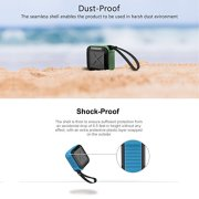 Portable-Outdoor-and-Shower-Bluetooth-40-Speaker-by-AYL-SoundFit-Waterproof-Wireless-with-10-Hour-Rechargeable-Battery-Life-Powerful-5W-Audio-Driver-Pairs-with-All-Bluetooth-Devices-0-5