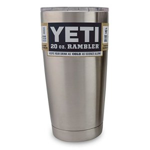 Yeti Coolers Rambler Tumbler Silver 20 oz