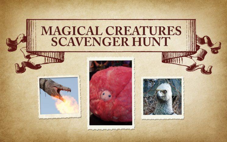 Wizarding World of Harry Potter Photo Scavenger Hunt