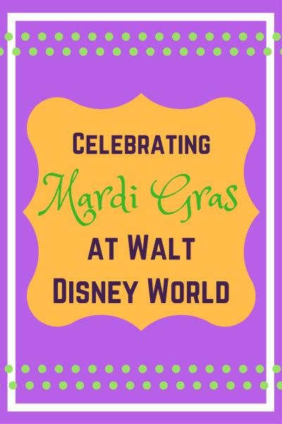 Celebration of Mardi Gras at Walt Disney World's Port Orleans Resort