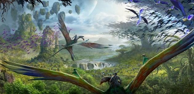 Behinds the Scenes of Pandora The World of Avatar at Disney's Animal Kingdom