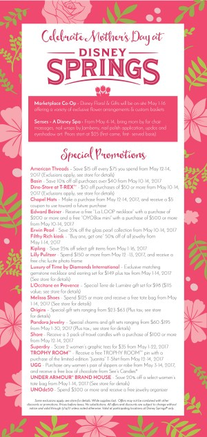 There are many ways to honor mom for Mother's Day at Walt Disney World Resort. From dining to shopping see how to celebrate Mother's Day at Disney World.
