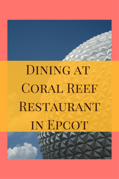 The Coral Reef Restaurant in Epcot has several exciting new dishes being offered including land and sea delights that are unique and beautifully plated.