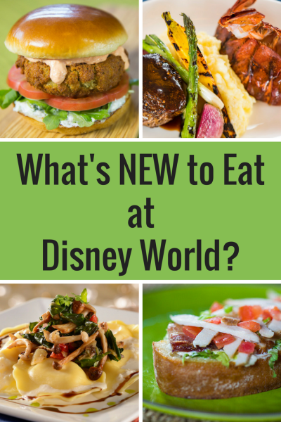 Dining at Disney Parks is always an adventure! Check out the newest food offerings at Walt Disney World.